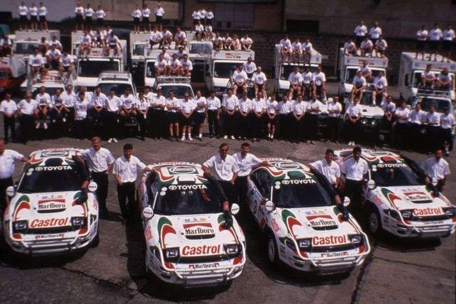 Toyota Castrol Team in 1993