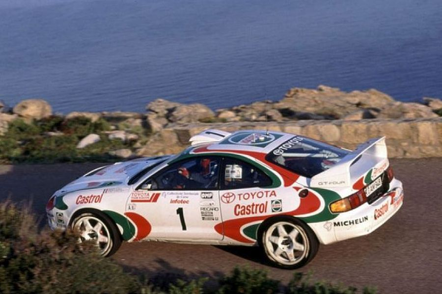 Toyota Celice GT-Four ST205 racing