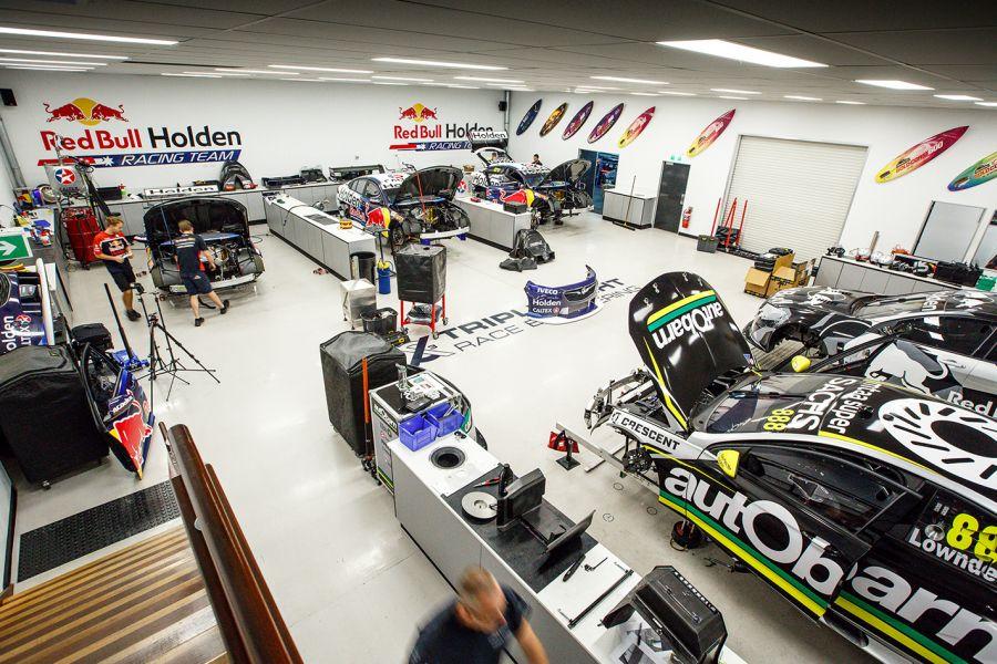 Triple Eight Race Engineering Red Bull Holden