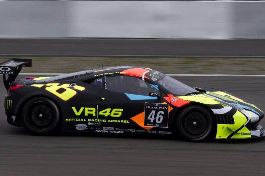 Valentino Rossi's #46 Ferrari 458 Italia GT3