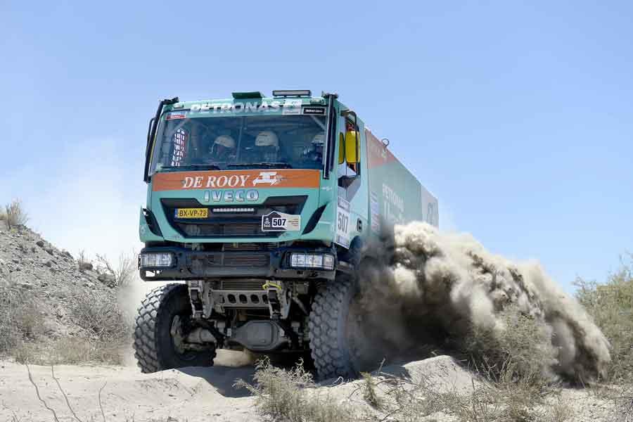 Iveco Dakar Rally truck