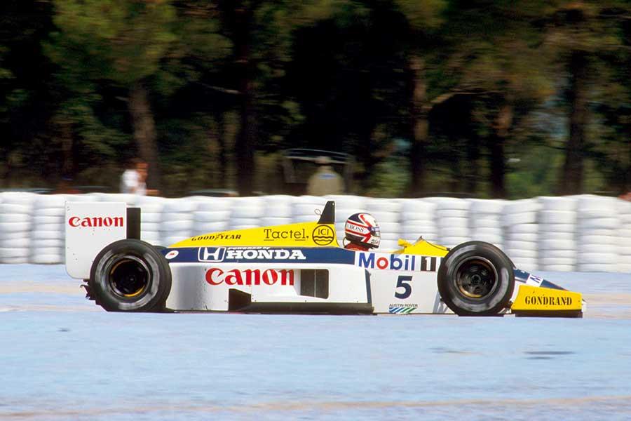 Williams FW11 formula 1986 Honda Nelson engine team cars