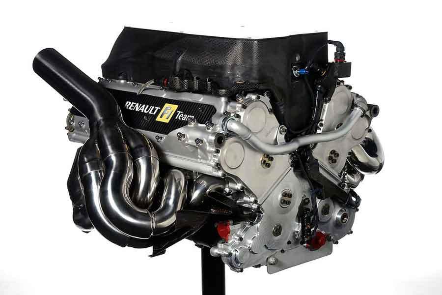 Renault R25, engine
