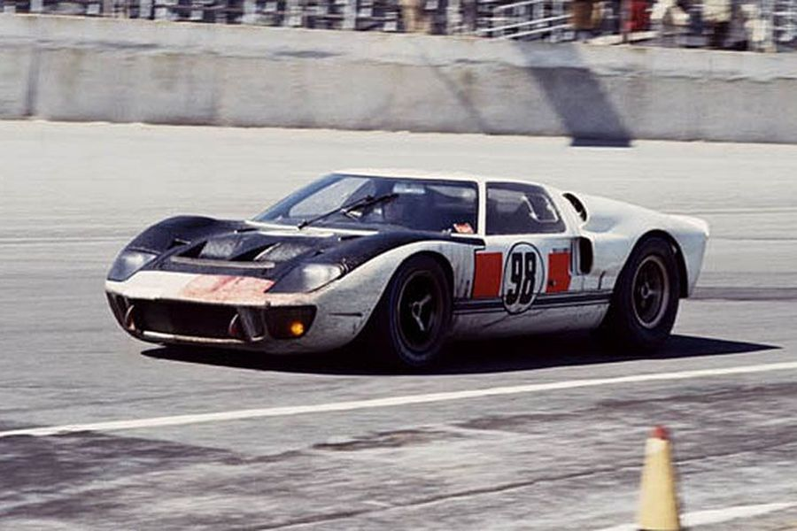 The #98 Ford GT has won the first 24-hour race at Daytona