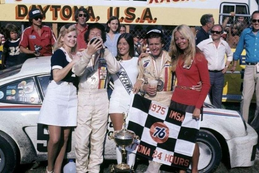 Hurley Haywood and Peter Gregg in 1975, Daytona 24h
