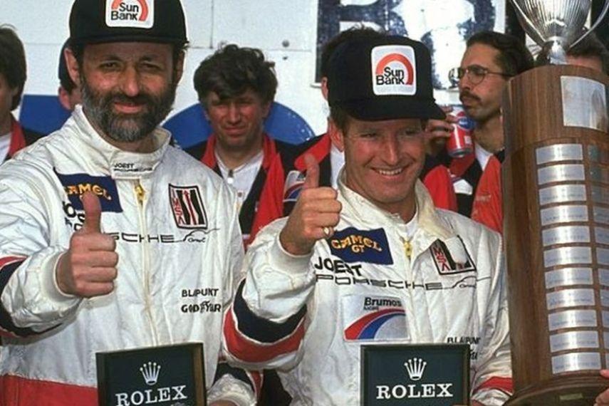 Henri Pescarolo and Hurley Haywood in 1991