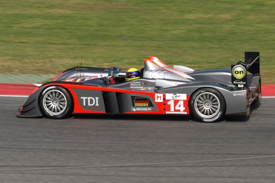 Audi R10 TDI was the first prototype car of Kolles Racing