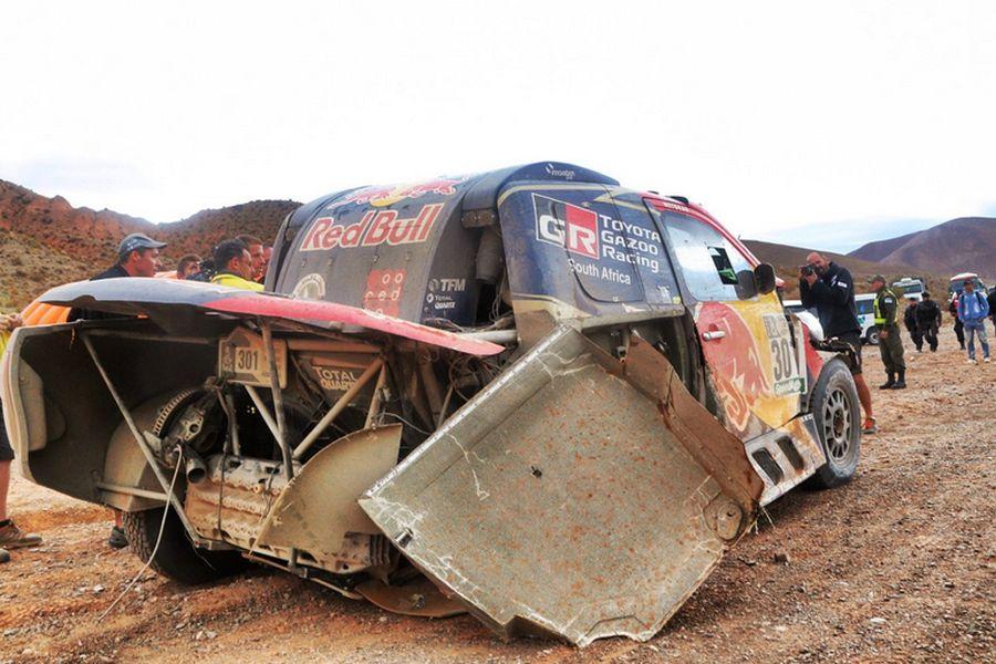 Nasser Al Attiyah, Toyota Hilux, Dakar 2017 stage 3