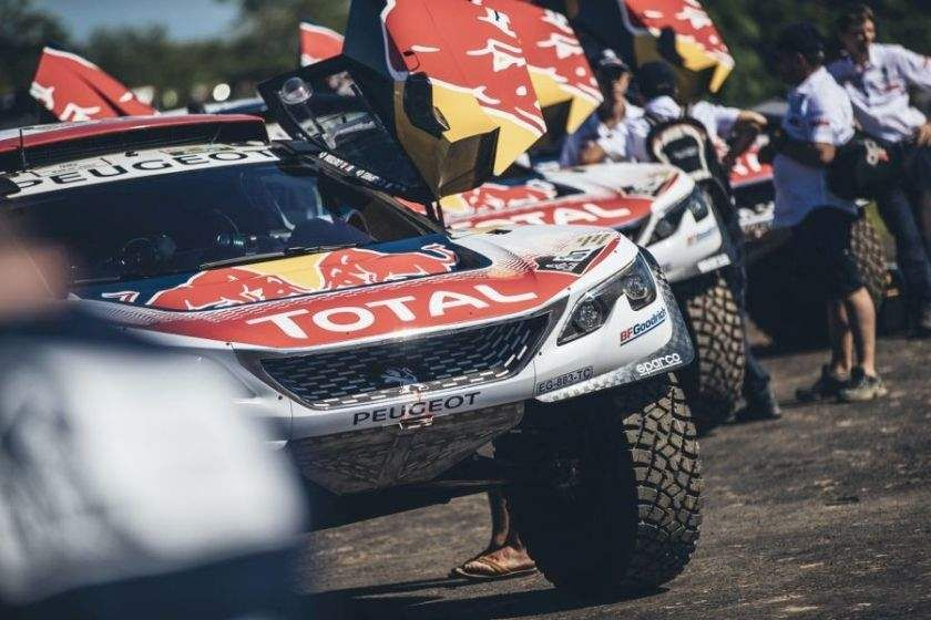 1-2-3 victory for Peugeot at 2017 Dakar Rally