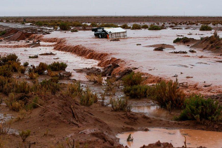 Dakar 2017, Bolivia flood