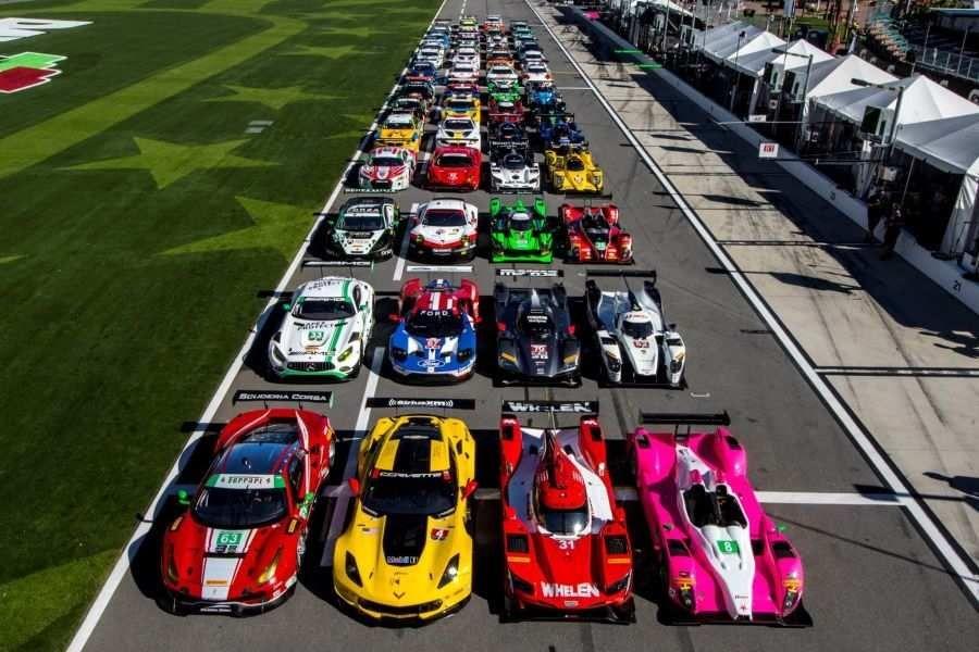 55-car grid for the 2017 Daytona 24h race