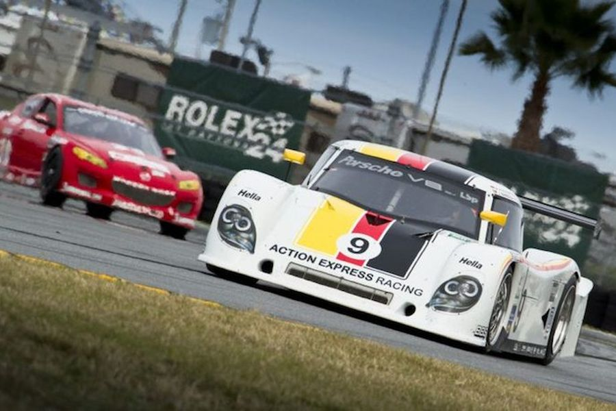 Action Express Racing's #9 Riley-Porsche at 2010 Daytona 24h