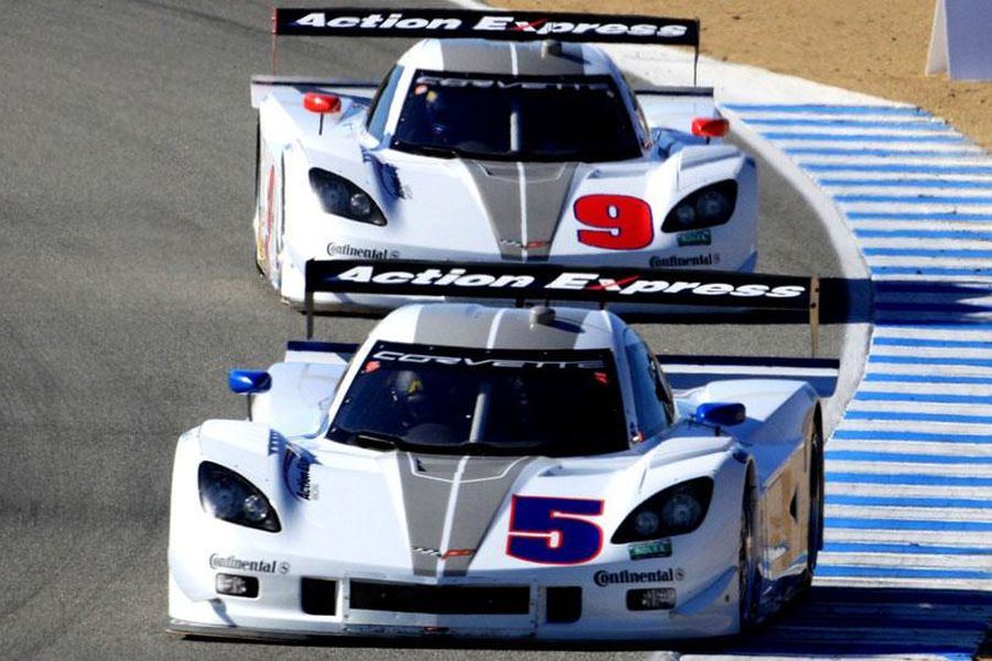 Action Express Racing started to use Corvette Daytona Prototypes in 2012