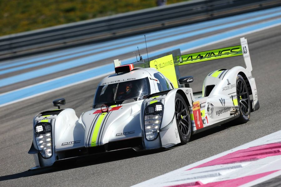 ByKolles Racing's CLM P1/01 in 2015