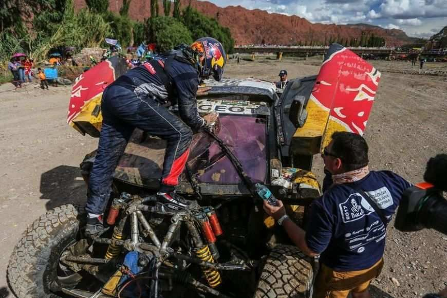 Carlos sainz, stage 4 Dakar Rally 2017