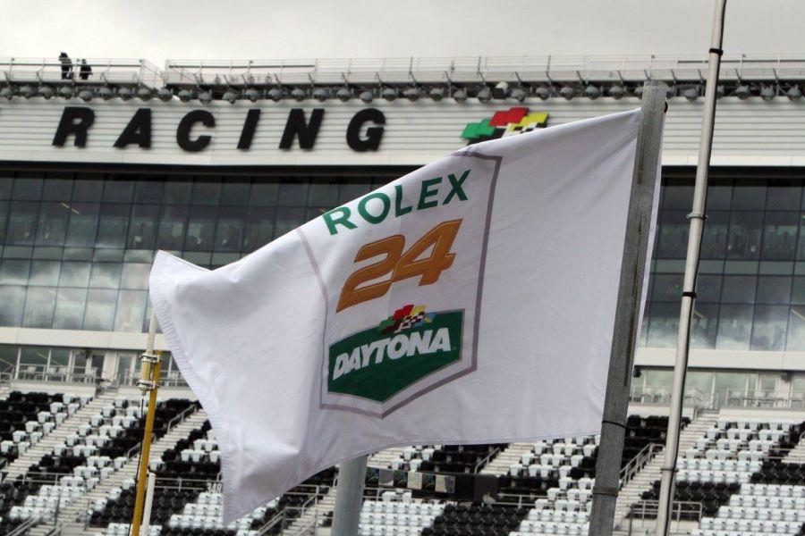 Rolex 24 at Daytona flag logo