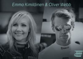 Emma Kimiläinen and Oliver Webb, Electric GT Championship