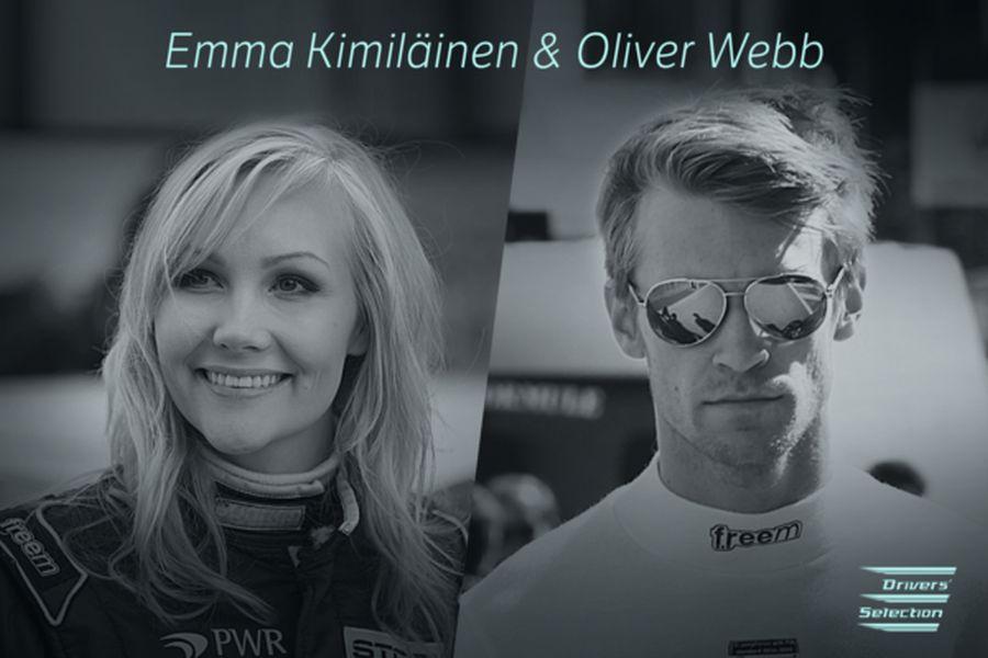 Emma Kimiläinen and Oliver Webb, Electric GT Championship