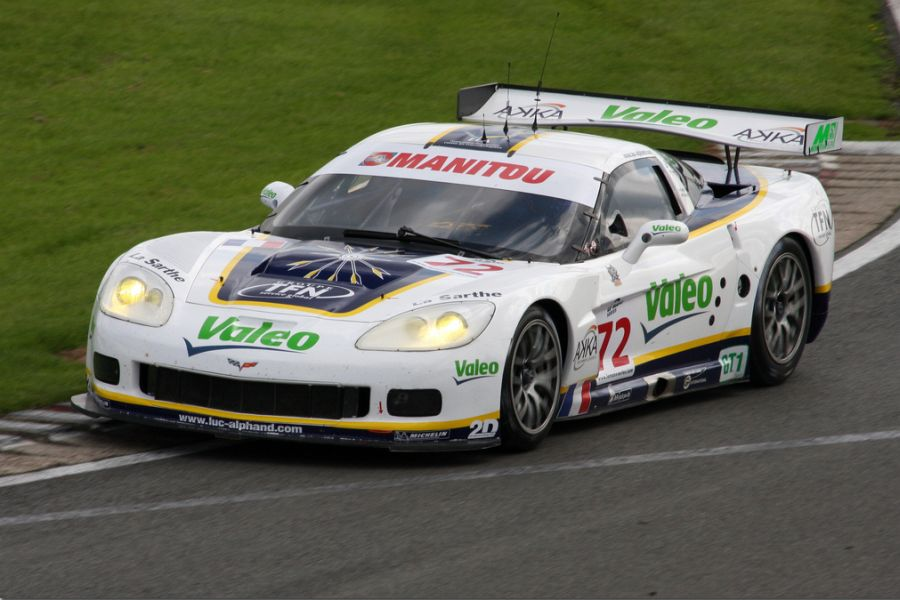 Guillaume Moreau was Le Mans Series champion in the #72 Corvette