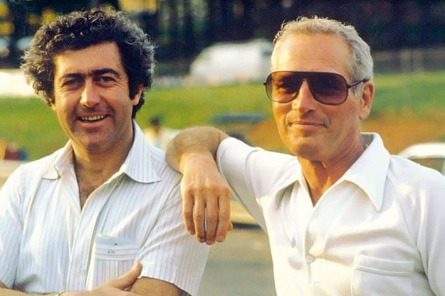 Gianpiero Moretti and Paul Newman