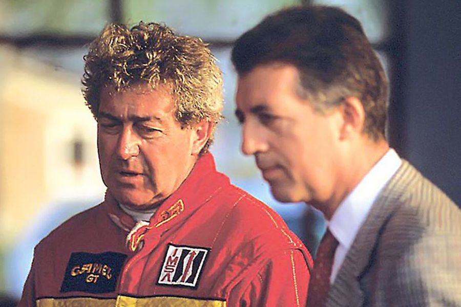 Gianpiero Moretti and Piero Ferrari