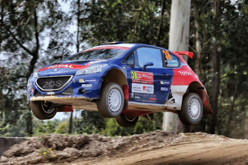 Suarez is flying at 2016 Rallye Portugal, peugeot 208 t16