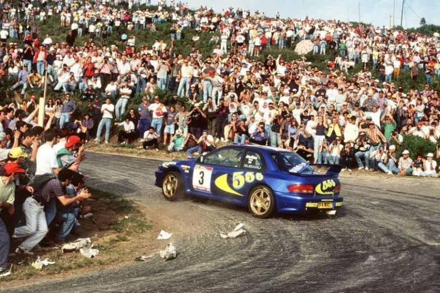Colin McRae at 1997 Rallye de Portugal