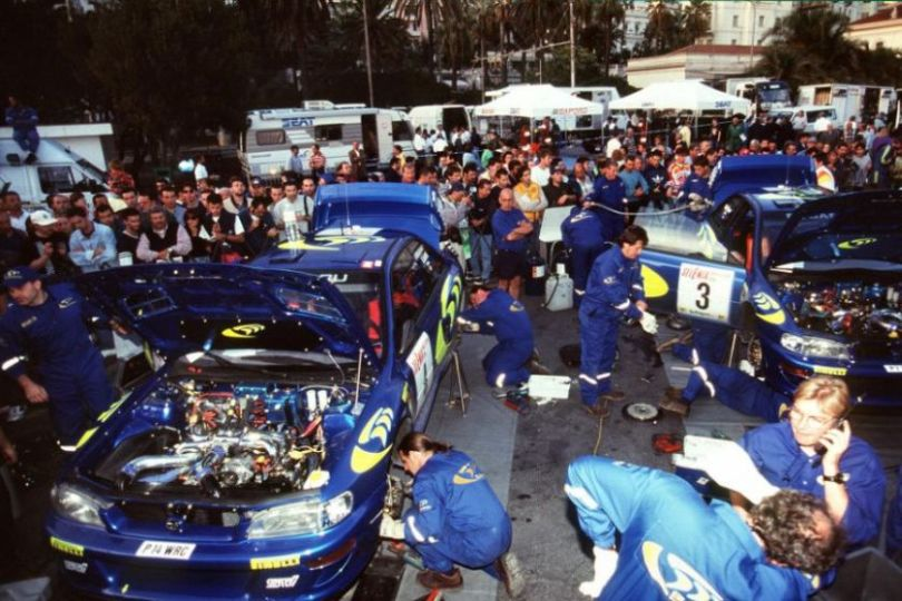 Workshop: Subaru Impreza WRC 1997