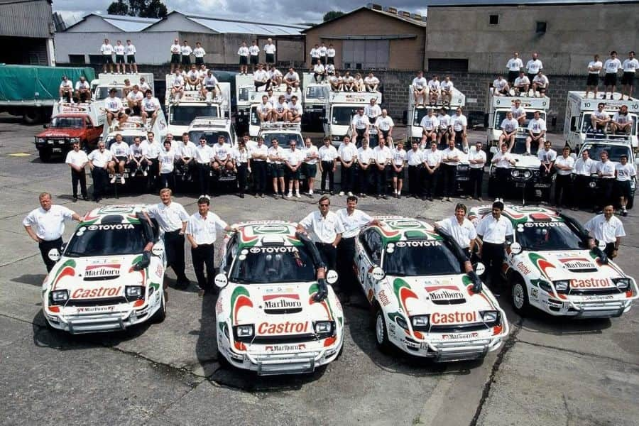 Toyota Castrol Team in 1993
