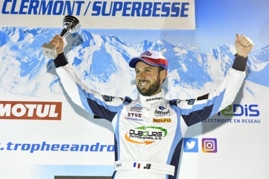 2017 Trophee Andros champion Jean-Baptiste Dubourg