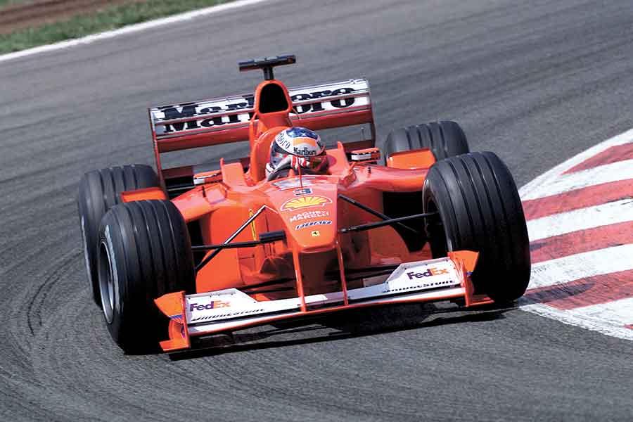 Ferrari F1 2000 cars formula season