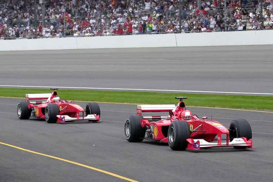 Ferrari F1-2000 Michael formula speed contact v10 cars world share racing