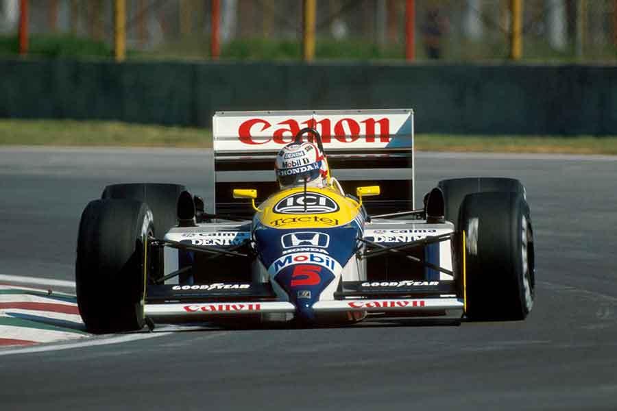 Williams FW11B formula