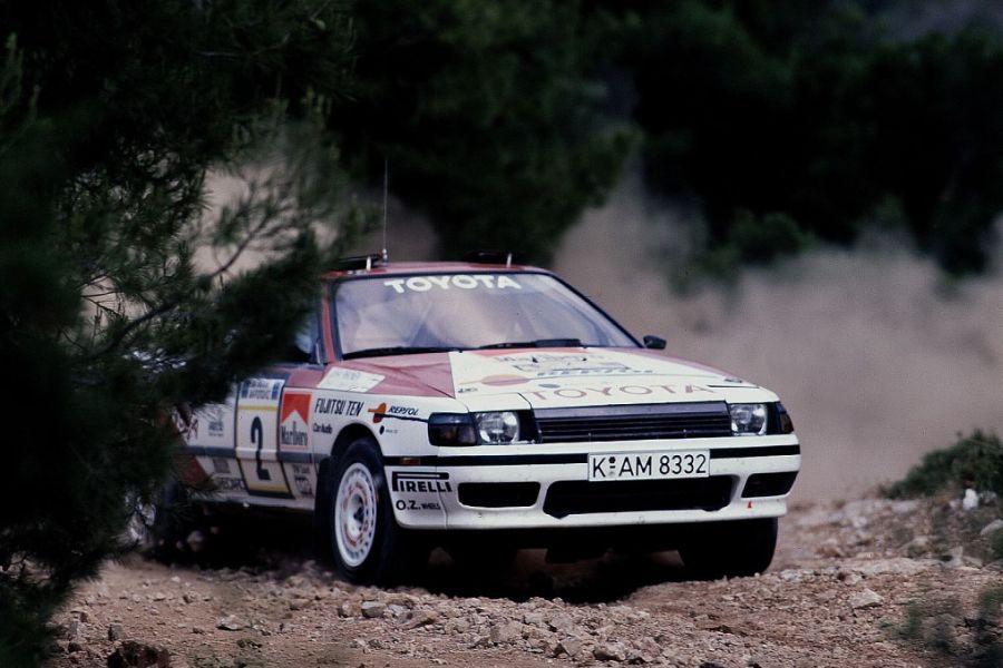 1989 Acropolis, Juha Kankkunen, Toyota Celica GT-Four