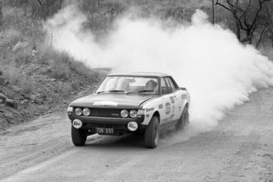 Ove Andersson and Jean Todt in Toyota Celica 1600 GT, 1973