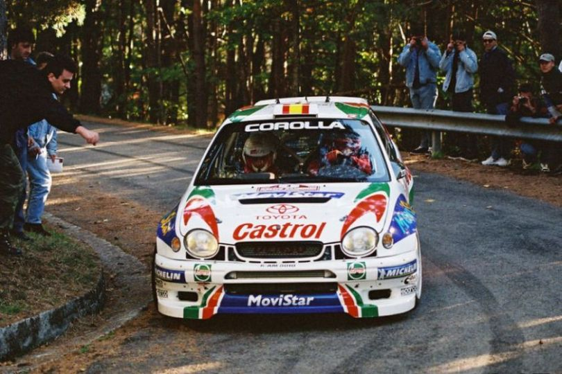 Toyota Corolla WRC was the championship winning car in 1999
