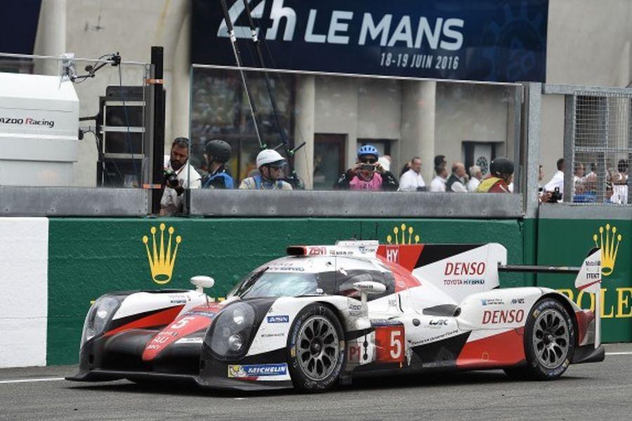 2016 Le Mans, Toyota