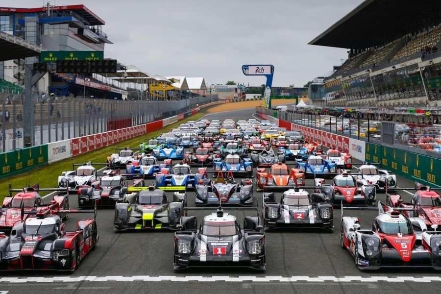 2016 Le Mans 24h grid