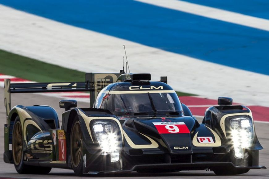 The #9 Lotus CLM P1/01 debuted at 2014 6 hours of COTA