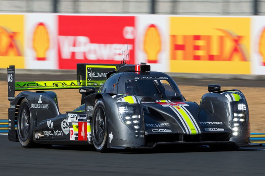 ByKolles Racing's CLM P1/01 at 2015 Le Mans 24 hours