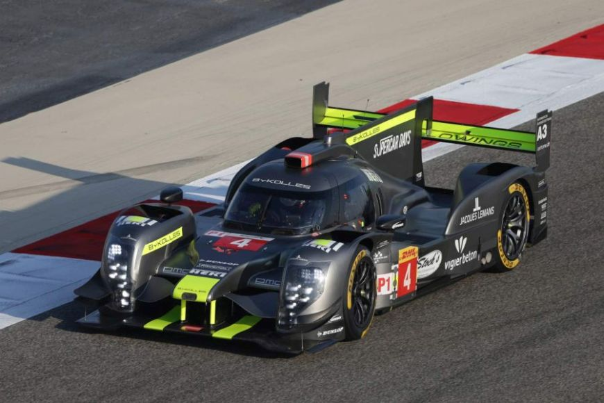 By Kolles Racing CLM P1/01 in the 2016 FIA WEC season