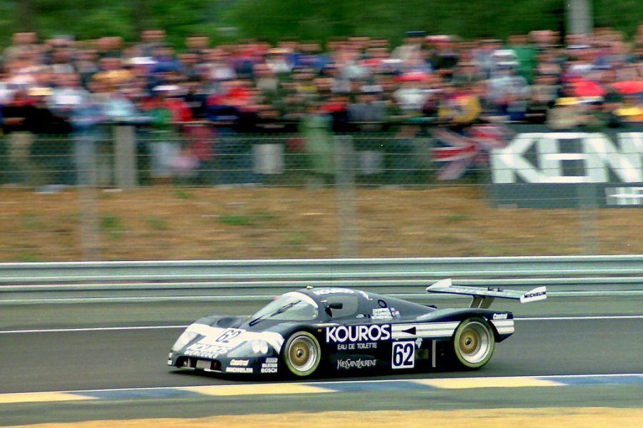 1987 Le Mans, Kouros Sauber C9-Mercedes
