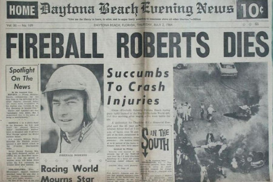 Fireball Roberts death