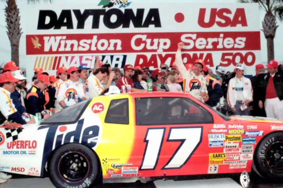 1989 Daytona 500 - victory for Darrell Waltrip