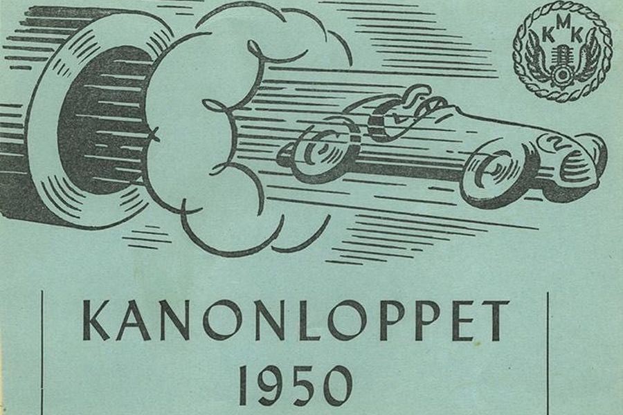 The inaugural Kanonloppet in 1950 was the first ever race at Karlskoga Motorstadion