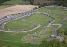 Karlskoga Motorstadion, aerial view