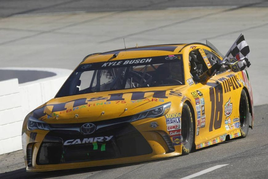Kyle Busch - 2016 NASCAR Cup Series champion with Toyota