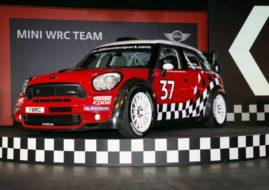 MINI WRC Team Launch, Oxford, 11 April 2011. Presentation of the MINI John Cooper Works WRC (04/11).