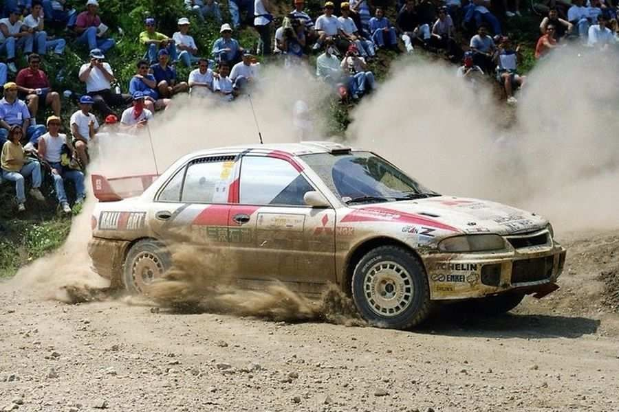 Mitsubishi Lancer Evo III,1996 Acropolis Rally, Tommi Makinen