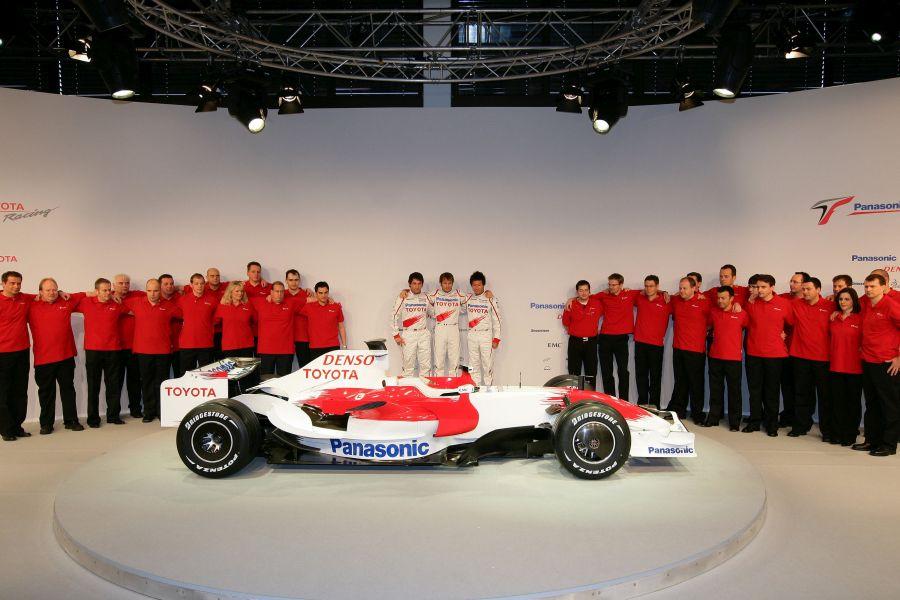 Panasonic Toyota Racing, 2008